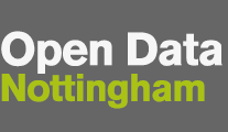 Open Data Nottingham logo. It's just the text.